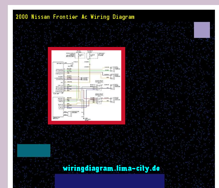 Wiring Diagram For 2000 Nissan Frontier